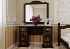 Туалетный столик Магнолия темный орех ЧДК
