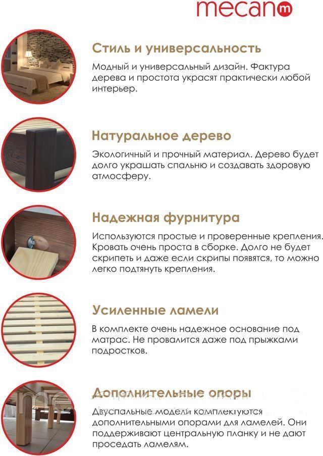 Мекано преимущества кроватей